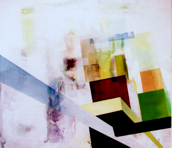 untitled (Nordweststadt), 2007 / 2010, oil, acrylic, canvas, palimpsest (overpainting),