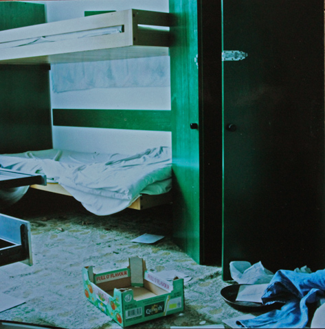 Bedroom / Schlafzimmer, 2002, photography, 25 × 25 cm,