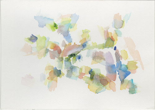 2016-12_50-136441_8-155890_vhs-tsst, painted at the Volkshochschule (Community College / Adult Education Center), water colour, 17 x 24 cm (Kirsten Kötter)
